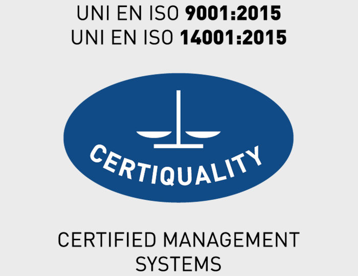 The Technical Commission of Certiquality has issued in 2018 the following certifications